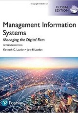 Management information systems : managing the digital firm / Kenneth C. Laudon and Jane P. Laudon.