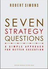 Seven Strategy Questions / Robert Simons