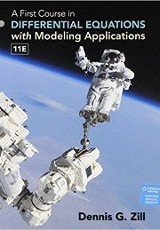 A first course in differential equations with modeling applications / Dennis G. Zill.