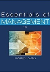 Essentials of Management/Andrew Du Brin.