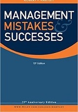 Management mistakes and successes / Robert F. Hartley.