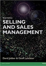 Selling and sales management / David Jobber and Geoff Lancaster.