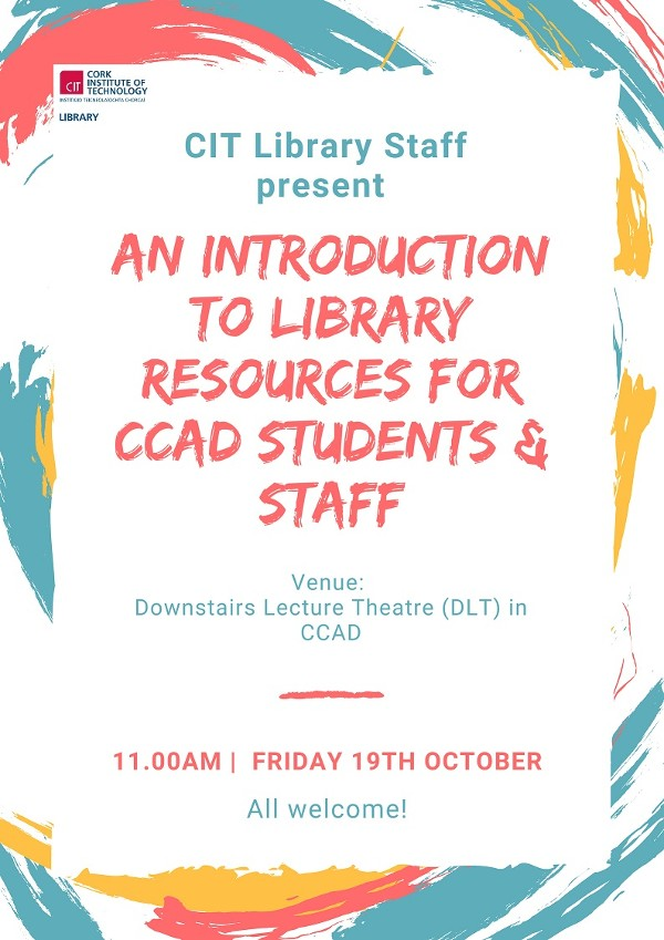 An Introduction to Library Resources for CCAD Students & Staff