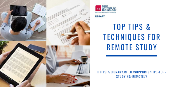 Preparing for online exams? Check out our Remote Study Guide Tips for Students