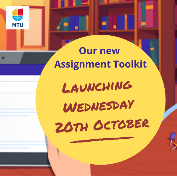 New Assignment Toolkit - Launching on Wednesday 20th October
