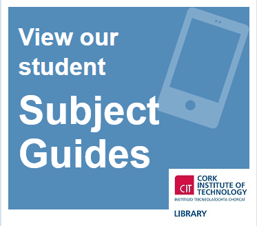 Have you tried our Subject Guides?