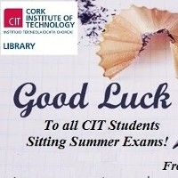 Good luck in your Summer Exams!