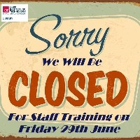 CIT Libraries will be closed on Friday 29th June for Staff Training