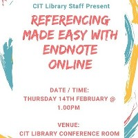 Find out how Endnote Online can help you with your Referencing this term!