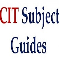 New CIT Library Subject Guides Now Available on library website.