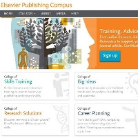 Interested in publishing a paper or article? The Elsevier Publishing Campus can help.