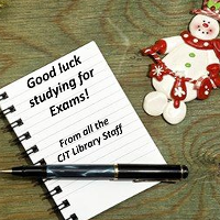 Good luck to everyone studying for exams at the moment!