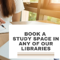 You must now book a study space to study in our Libraries.
