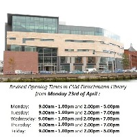 CSM Fleischmann Library Opening Times are Changing