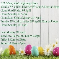 View our Opening Times over Easter