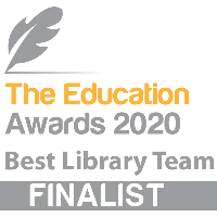 We've been selected as a finalist for the Education Awards 2020!