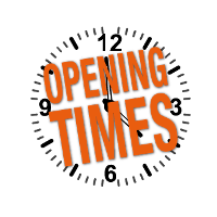 Current Opening Times: