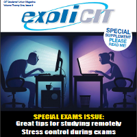 Library Staff & CIT Student's Union colloborate on special supplementary issue of expliCIT