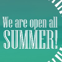 Summer opening times: