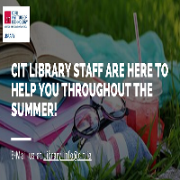 We're online throughout the summer!